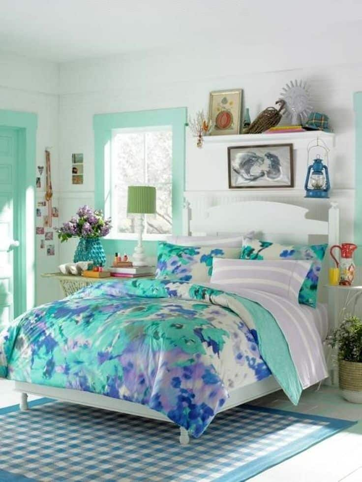 30 Smart Teenage Girls Bedroom Ideas -DesignBump on Girls Bedroom Ideas For Very Small Rooms  id=78754