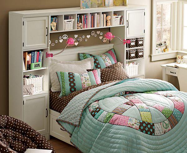 30 Smart Teenage Girls Bedroom Ideas -DesignBump on Teenage Room Design Girl  id=70948