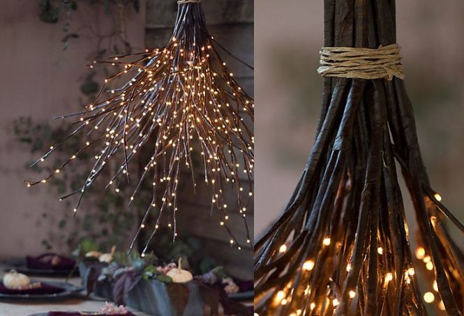 Diy Woodland Chandelier