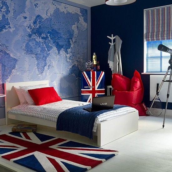 30 Awesome Teenage Boy Bedroom Ideas -DesignBump on Teenage Decor  id=19573
