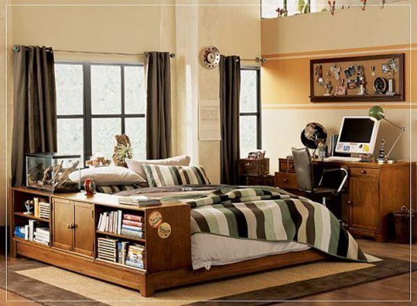 30 Awesome Teenage Boy Bedroom Ideas -DesignBump on Teenage Bedroom Ideas Boy  id=77228