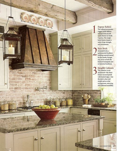 40 Rustic Kitchen Designs to Bring Country Life -DesignBump on Rustic:rkh3E0Gkuju= Farmhouse Kitchen Ideas  id=58781