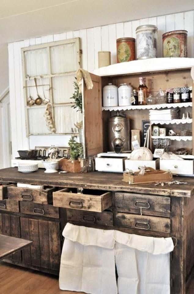 40 Rustic Kitchen Designs to Bring Country Life -DesignBump on Rustic:yucvisfte_S= Farmhouse Kitchen Ideas  id=58916