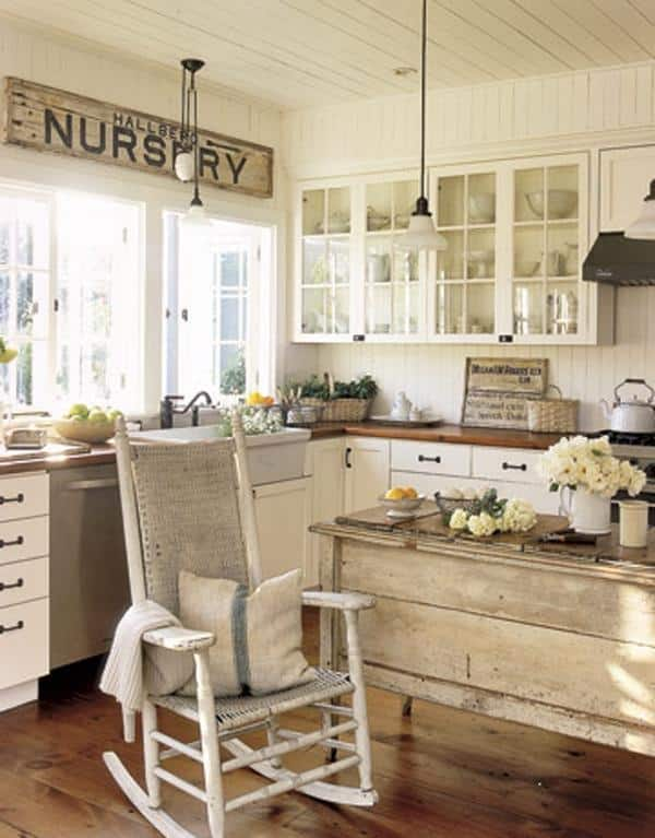40 Rustic Kitchen Designs to Bring Country Life -DesignBump on Rustic:yucvisfte_S= Farmhouse Kitchen Ideas  id=92119