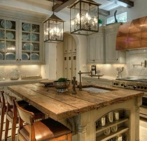 40 Rustic Kitchen Designs to Bring Country Life -DesignBump on Rustic Traditional Decor  id=33719