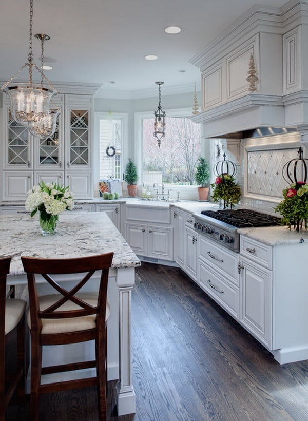 55 Brilliant Kitchen Design Ideas You ll Want  DesignBump traditional kitchen picture 5 http   hative com beautiful kitchen