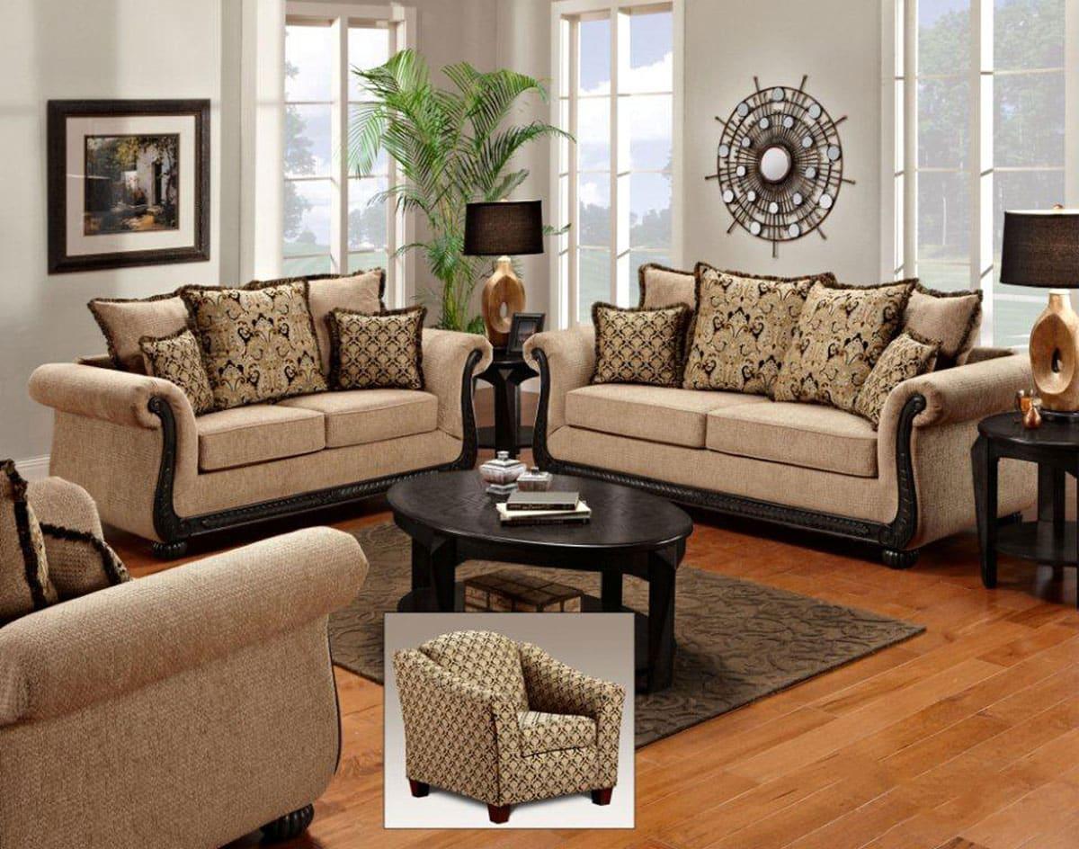 30 Brilliant Living Room Furniture Ideas -DesignBump on Room Ideas  id=91458