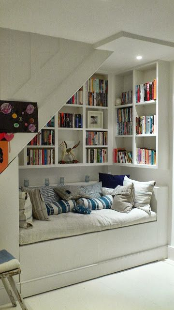 5 diy home decor ideas : 55 Charming Reading Corner Decorating Ideas -DesignBump