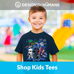 Shop kid's tees at DesignByHumans.com.