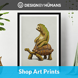 Shop framed & unframed art prints at DesignByHumans.com.