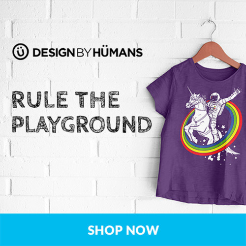 Shop kids tees at DesignByHumans.com!