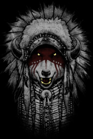 Wolf Warrior Shirts. Inspired by American native and one of the animals that become their symbol. Wolf