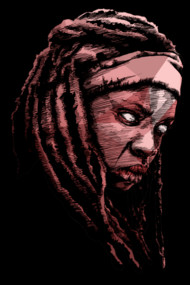 Michonne Shirts. Tribute to a badass character of The Walking Dead.