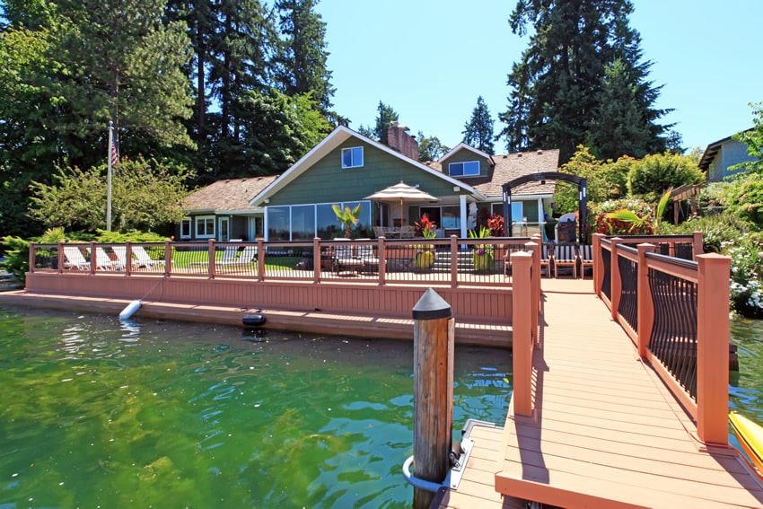 50 Wood Deck Design Ideas - Designing Idea on Lakefront Patio Ideas id=28781
