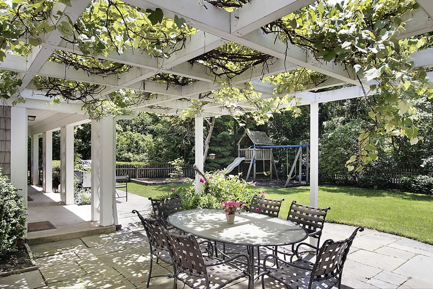 65 Patio Design Ideas - Pictures and Decorating ... on White Patio Ideas id=52678