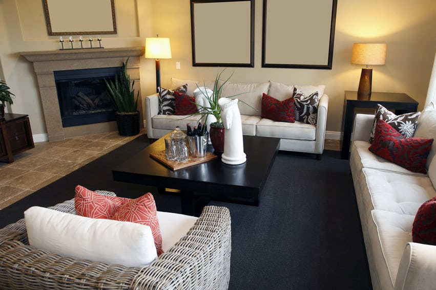 50 Elegant Living Rooms: Beautiful Decorating Designs ... on Fireplace Casual Living id=26811