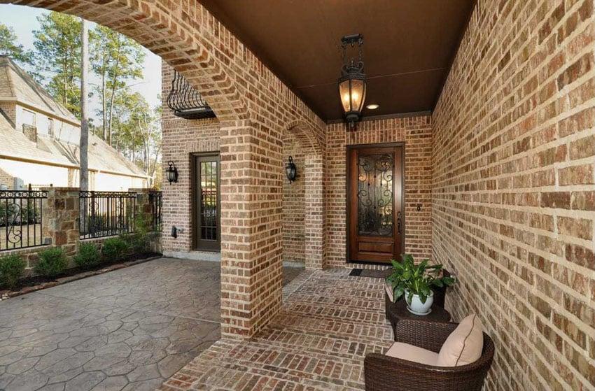 25 Brick Patio Design Ideas - Designing Idea on Backyard Brick Patio id=54670