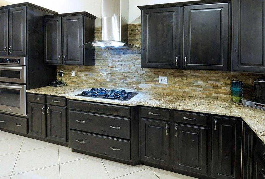 Kitchen Backsplash Designs (Picture Gallery) - Designing Idea on Backsplash Ideas For Dark Cabinets  id=21816