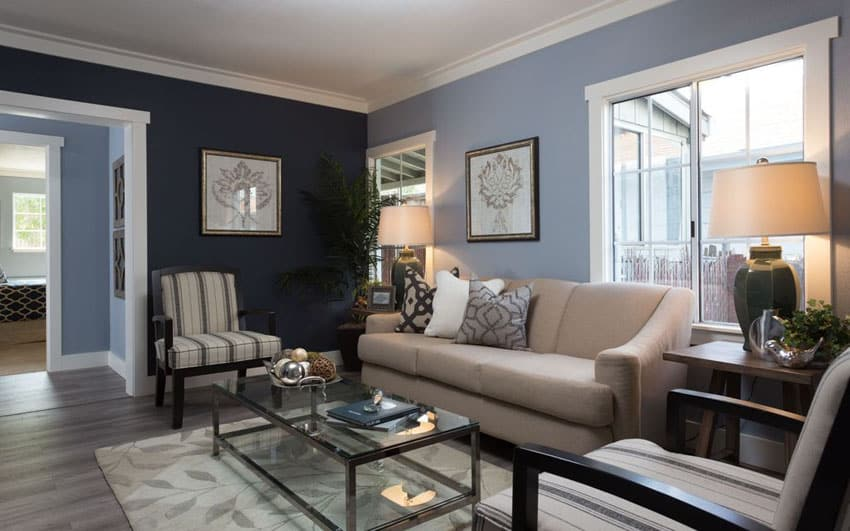 Country living editors select each pr. 26 Blue Living Room Ideas (Interior Design Pictures ...