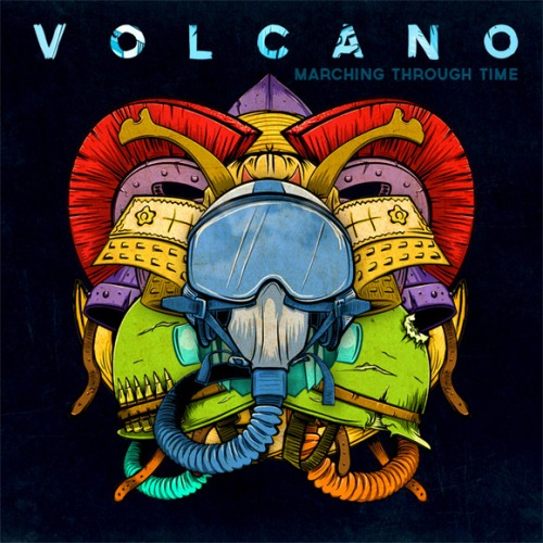 Volcano Marching Through Time Album Cover