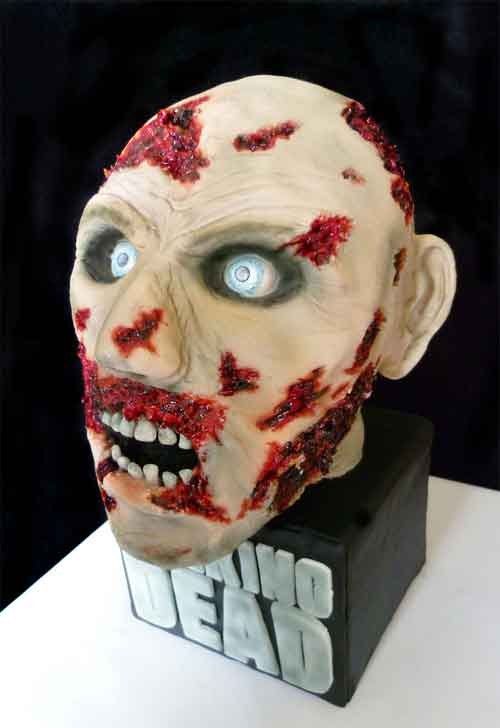 Halloween Decorating Ideas 20 Zombie Cake Designs
