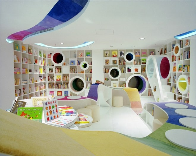 Kid's Republic Book Store in Beijing, China   DesignRulz.com