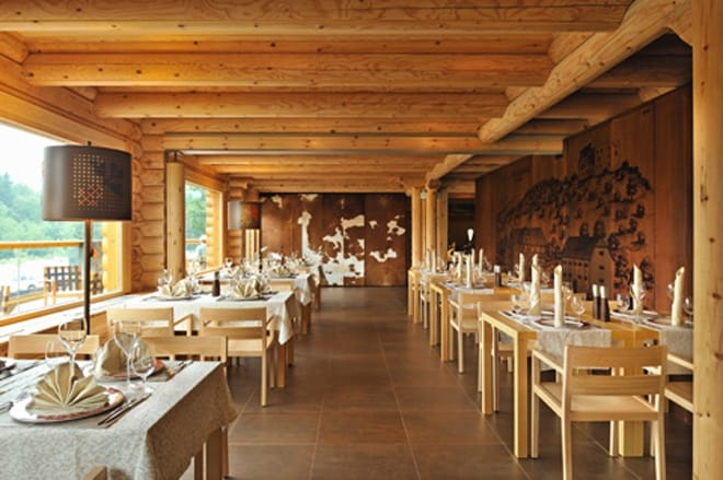 Restaurant In Slovenia By AKSL Architects