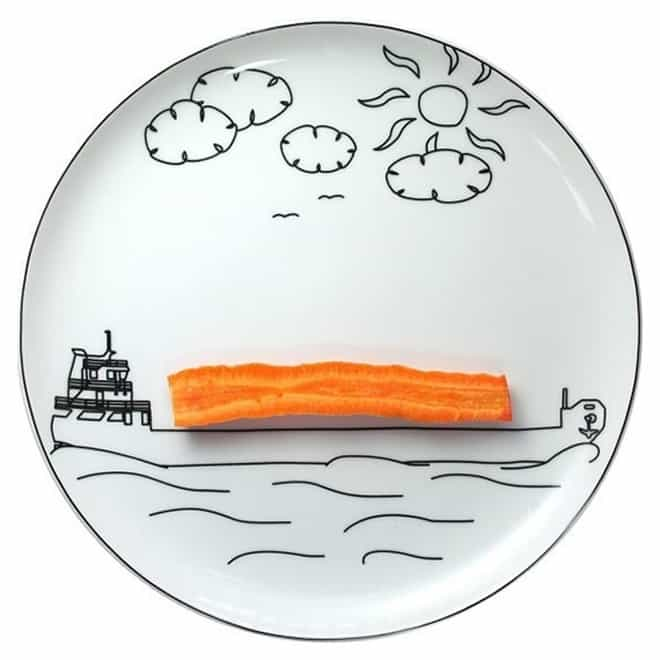 Play With Your Food Plates   DesignRulz.com