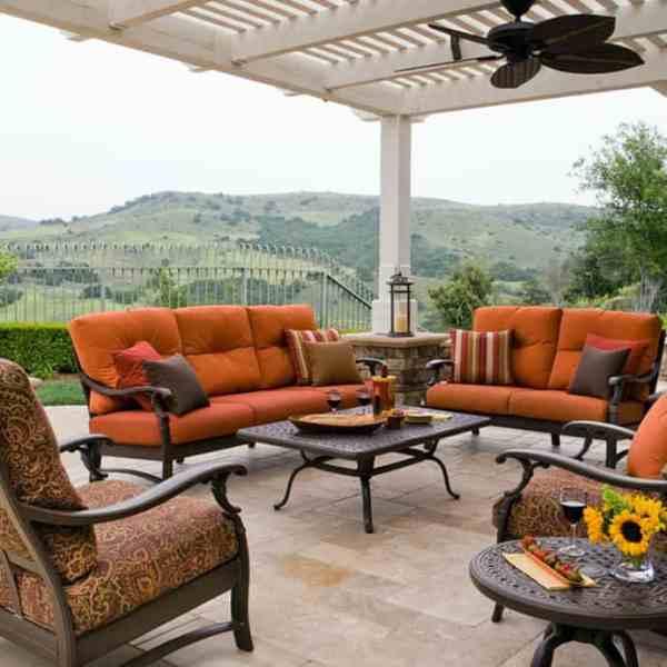 design outdoor patio furniture Elegant Outdoor Furniture for Stylish Terrace Design