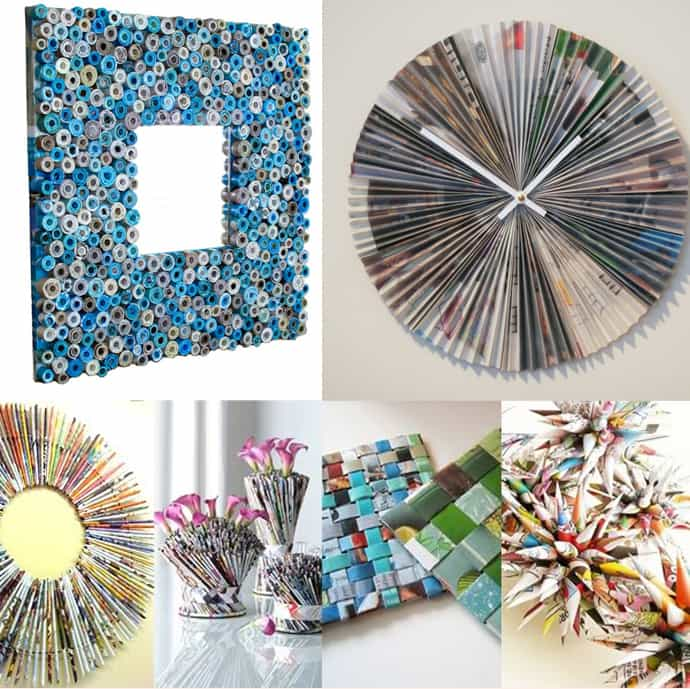 Repurpose old Magazines & Newspapers | ecogreenlove