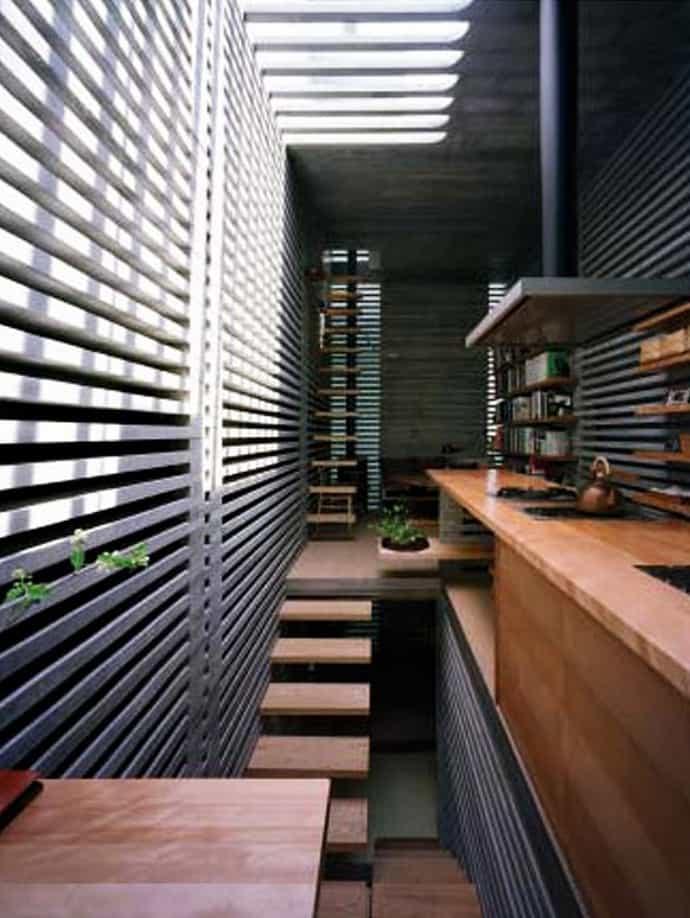 House Of Laminated Layers By Hiroaki Ohtani