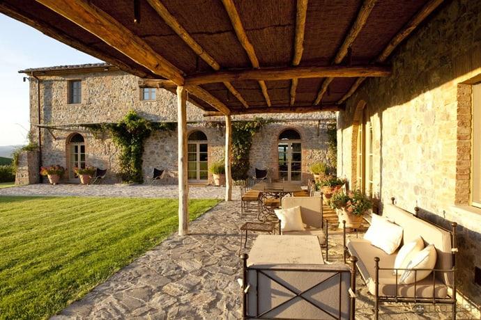 30 Rustic and Romantic Patio Design Ideas for Backyards on Romantic Patio Ideas id=29719