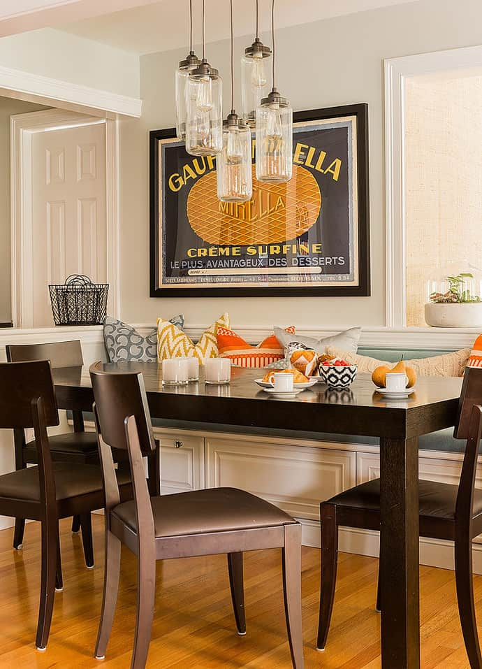Eclectic Suburban Home By Hudson Interior Design