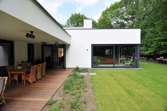 Modern Family Home House DampH By CKX Architecten