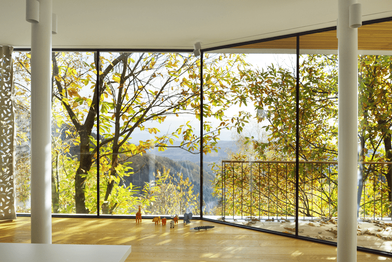 Floor To Ceiling Windows Everywhere Modern House By