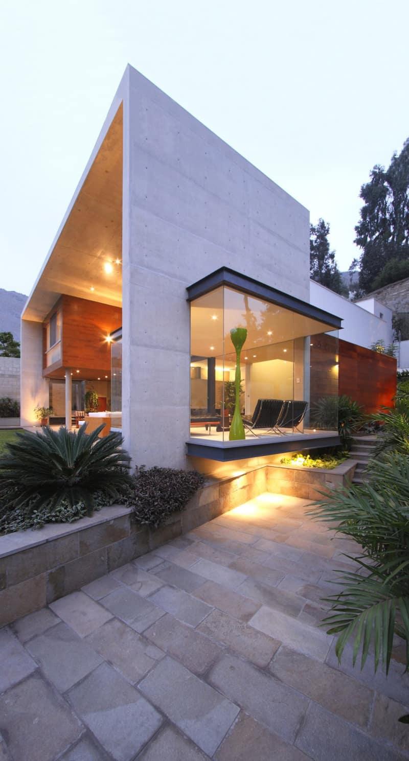 Modern Rectangular-Shaped House Boasting an Elegantly ... on Modern:szae7Exnfpq= Amazing Houses  id=36850