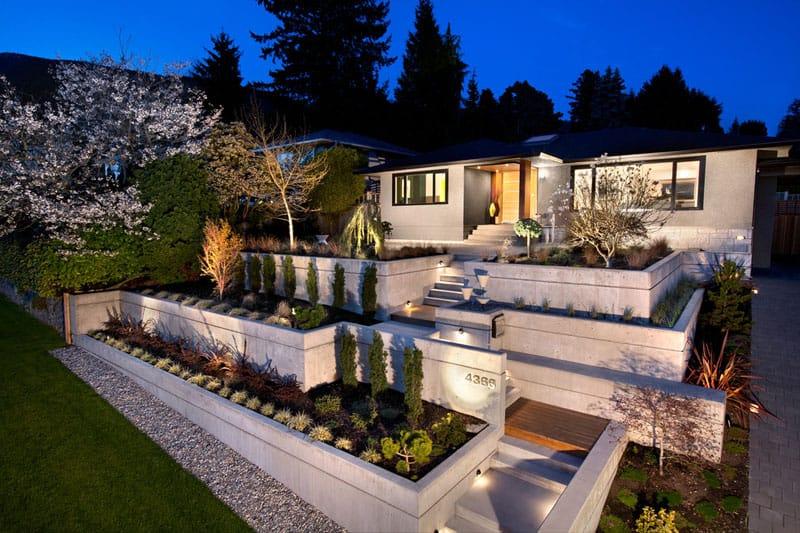 How To Turn A Steep Backyard Into A Terraced Garden on Steep Hill Backyard Ideas id=38694