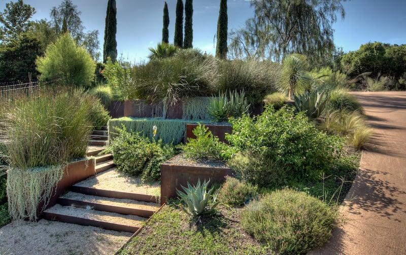 How To Turn A Steep Backyard Into A Terraced Garden on Terraced Yard Landscape Ideas id=35569