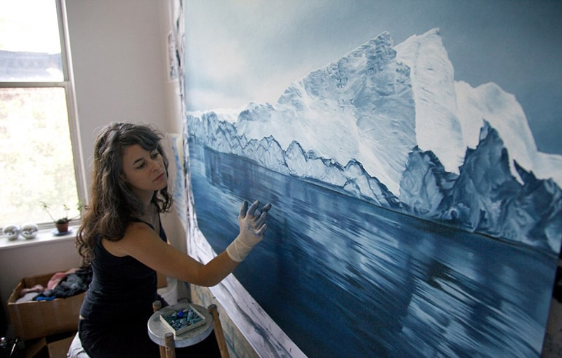 Incredible Finger Painting Artwork By Zaria Forman
