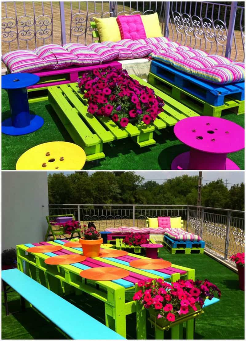 Creative Decorations with Recycled Items to Turn your ... on Diy Back Garden Ideas  id=57218