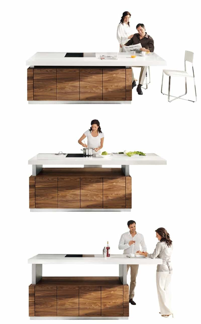 25 Unique Kitchen Countertops for Your Fancy Kitchen on Modern:0Bjn4Cem9Be= Kitchen Counter  id=89066
