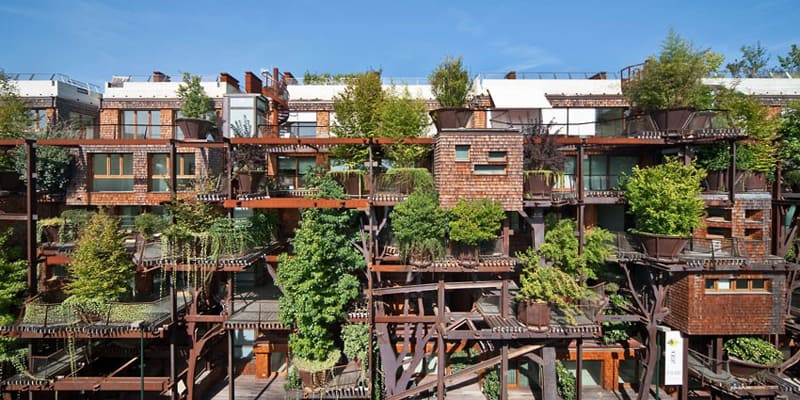 Amazing Urban Treehouse: The 25 Verde by Luciano Pia   DesignRulz.com