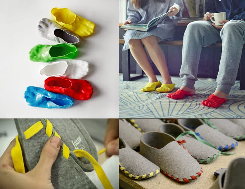 DIY Cool Slippers Fondue Slippers And Lasso Slippers