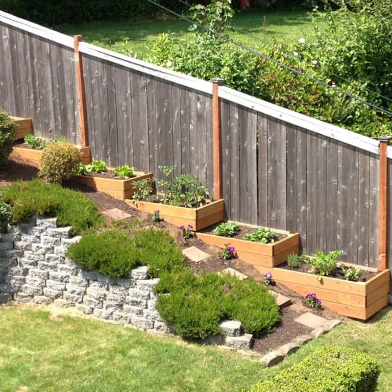 Amazing Ideas to Plan a Sloped Backyard That You Should ... on Downward Sloping Garden Ideas id=48433