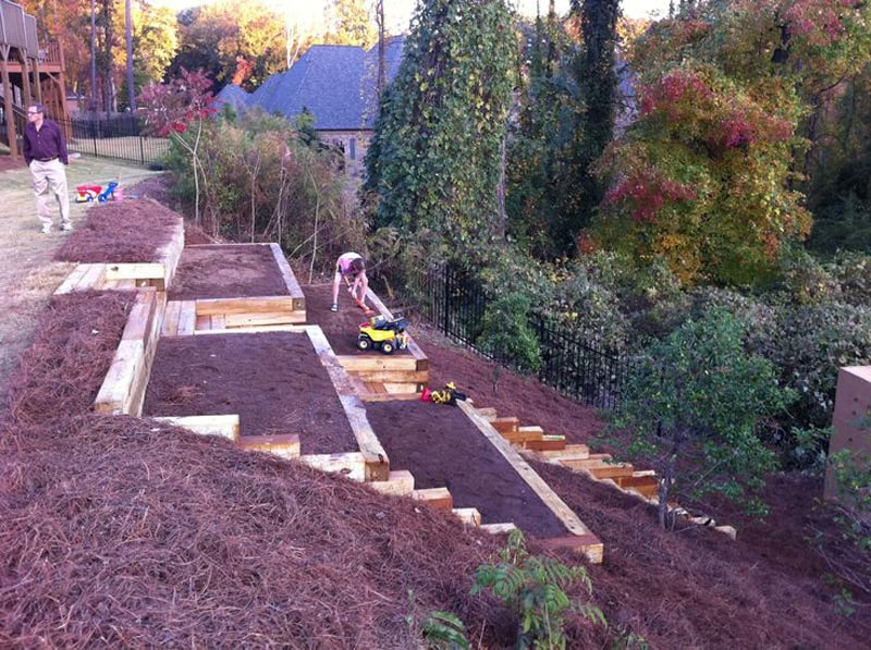 Amazing Ideas to Plan a Sloped Backyard That You Should ... on Small Sloped Backyard Ideas On A Budget  id=19032