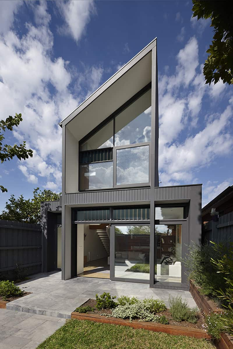 Semi-detached Dwelling on a Narrow Site: North Fitzroy ...