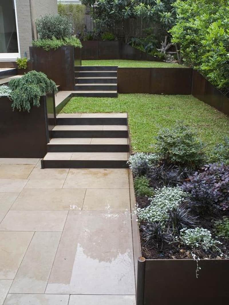 40 Ideas of How To Design Exterior Stairways on Backyard Stairs Design id=16915