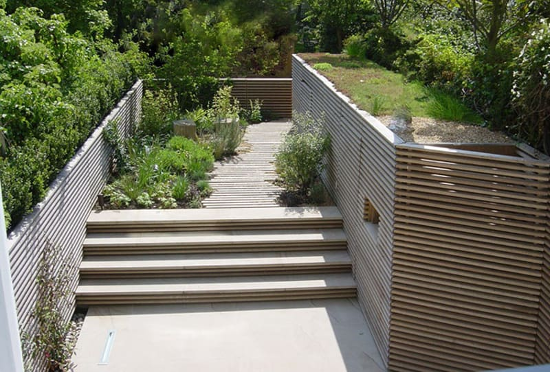 40 Ideas of How To Design Exterior Stairways on Backyard Stairs Design id=95691