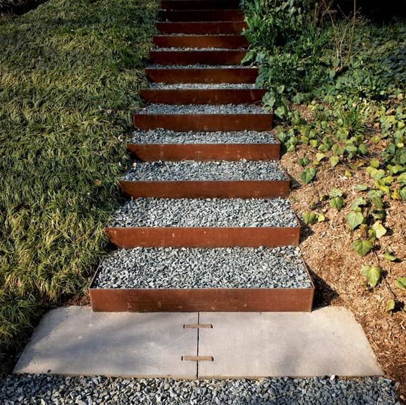 40 Ideas of How To Design Exterior Stairways on Backyard Stairs Ideas id=37935