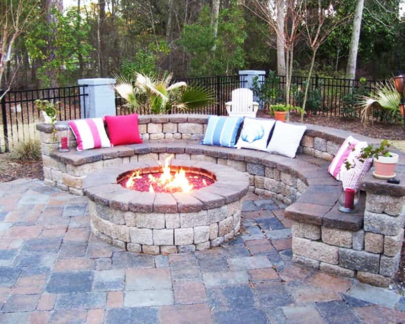 Best Outdoor Fire Pit Ideas to Have the Ultimate Backyard ... on Backyard Patio Designs With Fire Pit  id=75983
